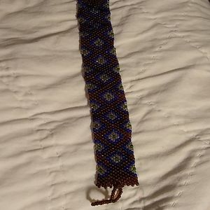 Hand loomed Glass bead bracelet